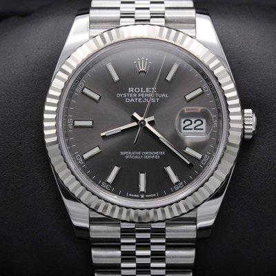 FSOT: Rolex Datejust 41 - 126334 - Rhodium Dial - Stainless - Jubilee - Mint 2021