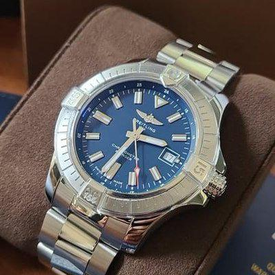 FSOT: Breitling Avenger Automatic 43 (A17318) Watch - Worn Twice/Summer 2021 Purchase, Complete Set w/ Stainless Steel Bracelet - $2,975