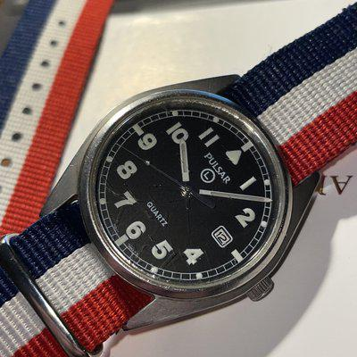 SOLD: $199 British Military issued Pulsar G10 by Seiko Iraq Afghanistan issue