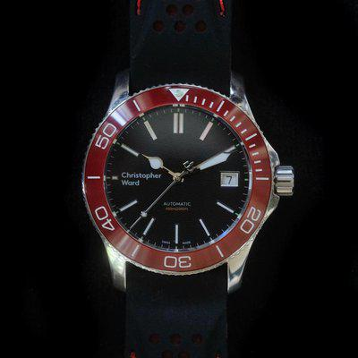 [WTS/WTT] Christopher Ward C60 Trident Pro 600 MK2 Red Bezel (Reposted)