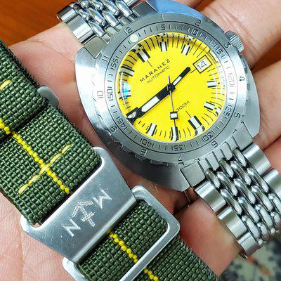 SOLD: Maranez Samui Vintage Yellow Dial from July 2021
