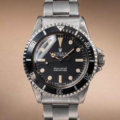 FS: 1968 Rolex Submariner 5513 Meters First Dial