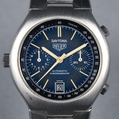 FS: 1976 Heuer Daytona Ref: 110.203B Blue Dial