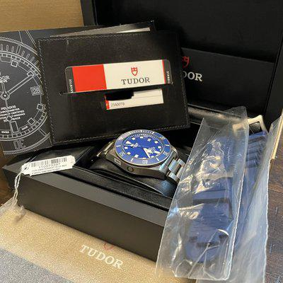 FS: Tudor Pelagos 25600TB Blue - Box & Papers - Unworn - Unisized - Stickered