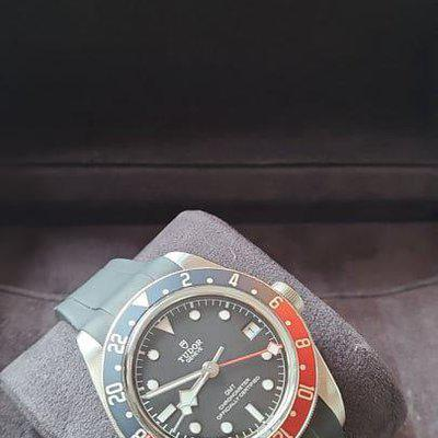 """FSOT: Tudor Black Bay GMT (79830RB) """"Pepsi"""" - Box & Papers, Great Watch - $3,075"""