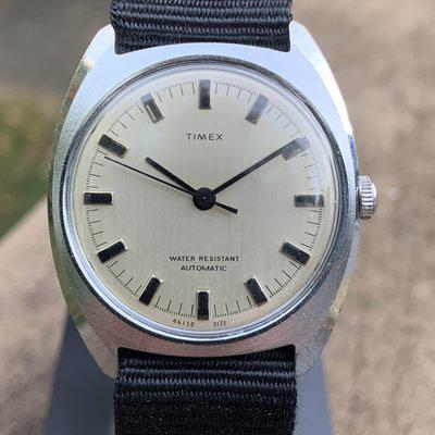 [WTS] Vintage 1972 Timex Viscount automatic, serviced