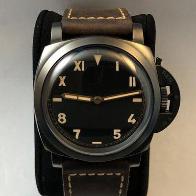 FS: Panerai 1950 3 Days Power Reserve PAM629 Limited Edition, DLC 47 mm Diameter Mint