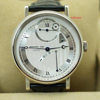 FSOT:BNIB Breguet CLASSIQUE CHRONOMETRIE 7727 10Hz WHITE GOLD 41MM 2021 FULL SET