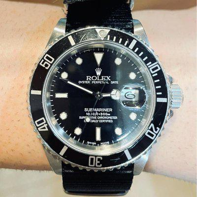 For Sale: Rolex L Serial 16610 Submariner Date
