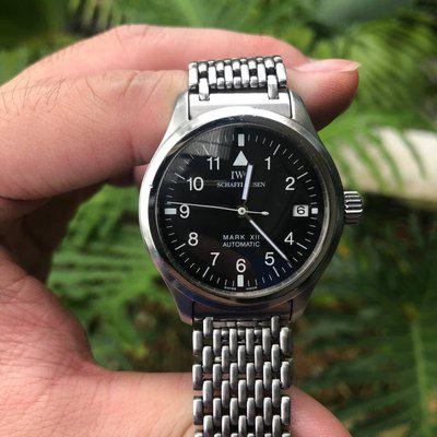 FS: IWC Mark XII (IW 3241) with Bracelet, IWC archive extracts, original box, service papers and instruction manuals