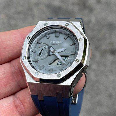 [WTS] Gray Casioak with AP style case. Original parts included