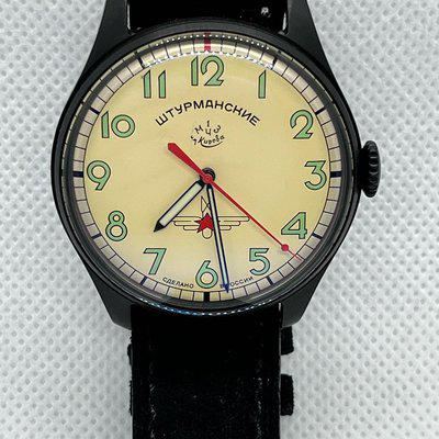 FSOT-ONE of a kind LTD Edition Sturmanskie numbered Y. Gagarin PVD Hand wind