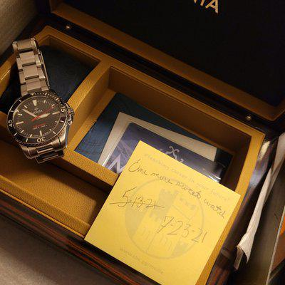 [WTS] $1450 Monta Oceanking, Black, no date, Excellent condition, quick adjust clasp, no half links, full kit.