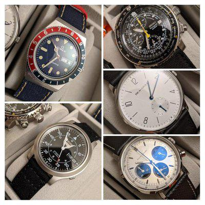 [WTS] Seiko,DanHenry,Timex,Seagull Collection