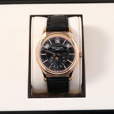 FS: Patek Philippe 5205R Complications Annual Calendar Moon Rose Gold Box/Papers 5205