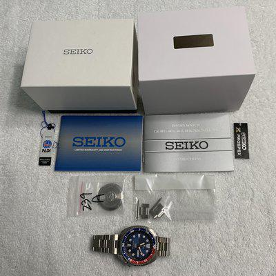 SOLD: SEIKO SRPA21 PADI PEPSI TURTLE DIVE WATCH WITH FULL KIT PLUS EXTRAS