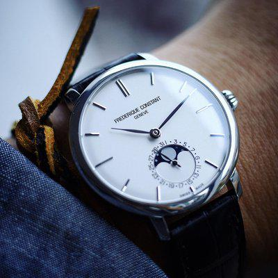 [WTS] Frederique Constant Slimline Moonphase FC703S3S6 full kit from 2018