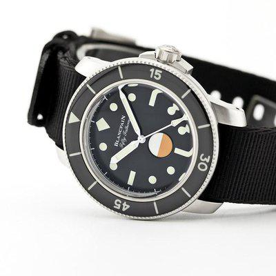 fsot - Blancpain Fifty Fathoms - MIL-Spec Hodinkee Limited Edition (new / complete)