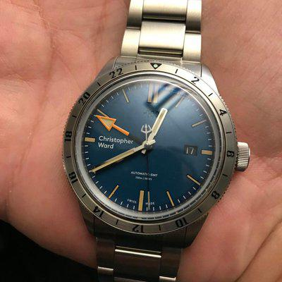 [WTS/WTT] Christopher Ward C65 Blue GMT in mint condition $700 OBO