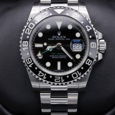 FSOT: Rolex GMT Master II - 116710 Black Dial - Stainless Steel - 40mm - Mint - 2010