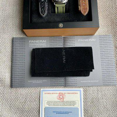 FS: Details about Panerai Radiomir Men's Black Watch PAM00287 Box and Papers