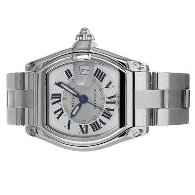 Cartier 2510 Roadster Service Papers Silver Dial