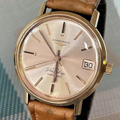Gorgeous Vintage, LONGINES Flagship, Ref. 3318-6, Gold-Capped Automatic w/Date