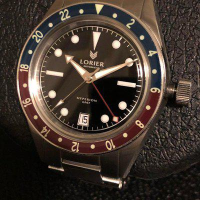 [WTS] Lorier Hyperion GMT Black/Silver - Full kit - Serviced