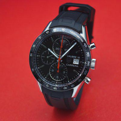 [WTS] TAG Heuer Carerra Calibre 16 Juan Manuel Fangio Edition - Watch Only, Excellent Condition