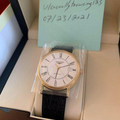 [WTS] Longines Présence Date Automatic - Brand New - $950 Shipped & Insured OBO