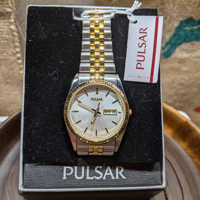 """[WTS] NOS Pulsar """"Datejust"""" Style Two-Tone"""