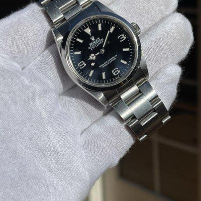 FS: 1994 Rolex Explorer 14270 Coveted Early Lug Holes Unpolished