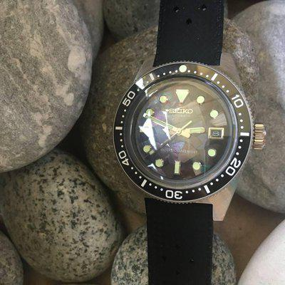[WTS] 62MAS Black Mosaic Mother of Pearl Seiko Mod Watch!