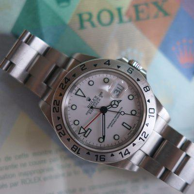 [WTS] Rolex Explorer II 16570, Polar Dial with Papers, Hangtags, Y Serial