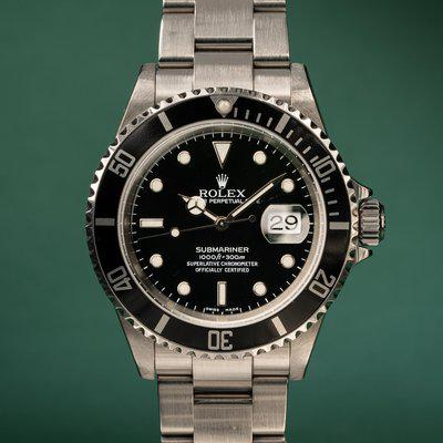 FS: 2004 Rolex Submariner 16610 with Papers