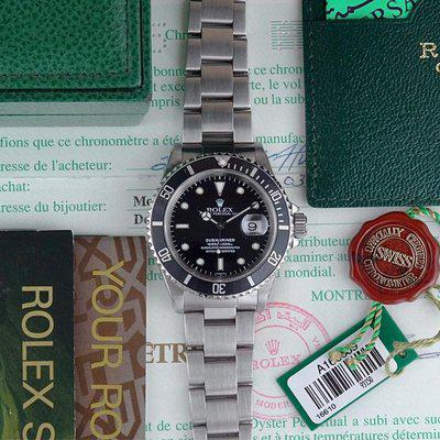Rolex Submariner Date | 16610 SWISS ONLY - Collector Set