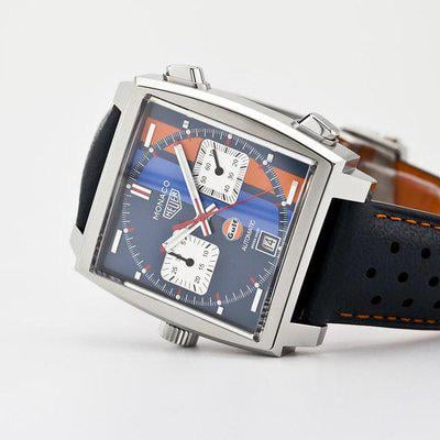fsot - Tag Heuer Monaco - Gulf Special Edition - CAW211R.FC6401 ( brand new )