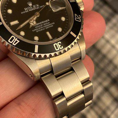 FS: Rolex 16610 A Serial unpolished