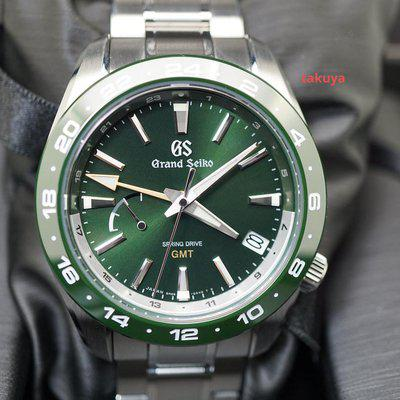 FSOT:Grand Seiko SPORT COLLECTION SPRING DRIVE GMT SBGE257 GREEN 2021 FULL SET