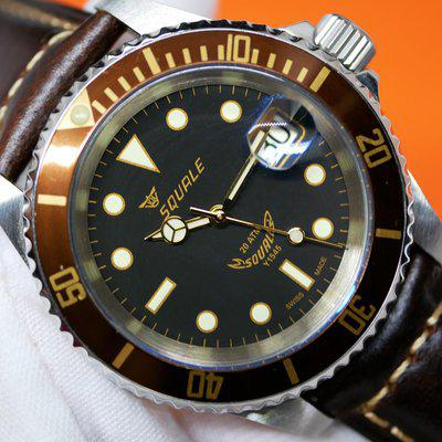 [WTS] Squale Root Beer Heritage Aluminium 20 ATMOS 1545 for $370 [REPOST] [PRICE REDUCED]
