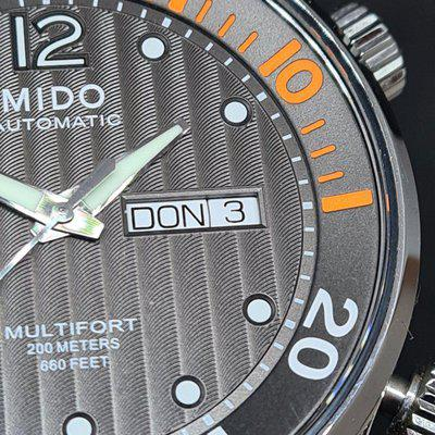 Mido Multifort Two Crowns
