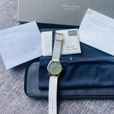 [WTS] Rare, and cheap as always, Nomos automatic Olive, come and get it 2300USD