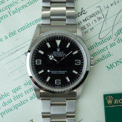 """[WTS] Rolex Explorer I Ref. 14270 """"Swiss Only"""" - Box & Papers"""