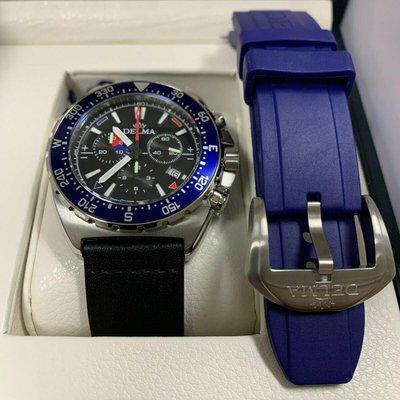 ------SOLD------ Delma Oceanmaster Chronograph, nautical chronograph Swiss Made watch. 44mm