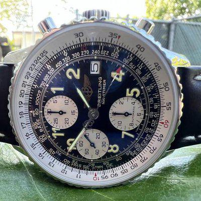 FS: BREITLING Old Navitimer Steel Automatic Mens Watch A13022