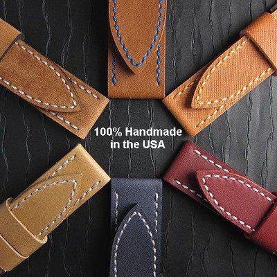 FS: PRE-CRAFTED Handmade Strap Sale: Superior Quality & Savings on 22, 24, 26mm. All Horween.