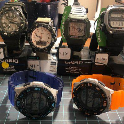 Name your price(!!): 6 NWT Casio / Timex workhorses