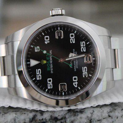 FS: Rolex 116900 Air King 40mm 2019 BOXES + PAPERS MUST SEE WOW! AMAZING PIECE! WOW!