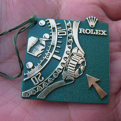 FS: Rare Rolex Submariner triplock hang tag from 70s