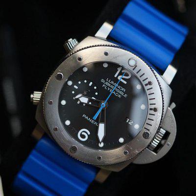 FS: Panerai 614 Luminor Submersible 47 mm 00614 Chrono Flyback